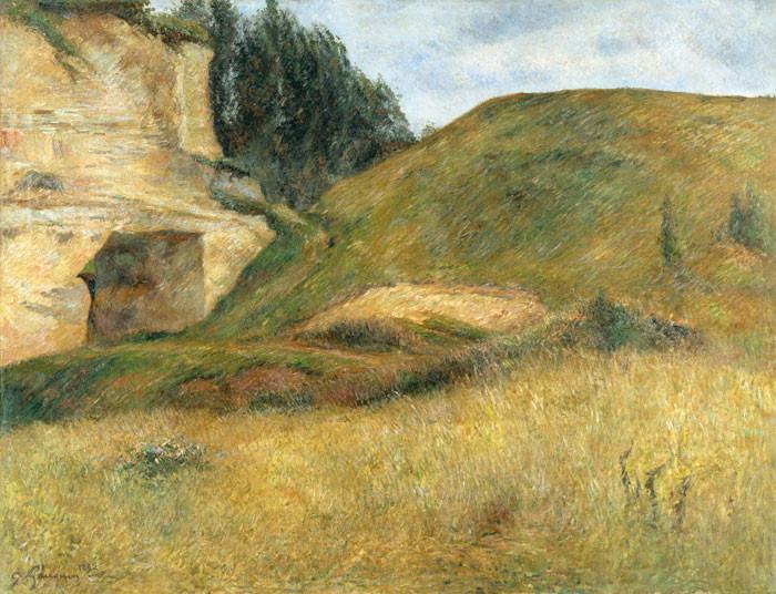 Paul Gauguin: Carrière aux environs de Pontoise
