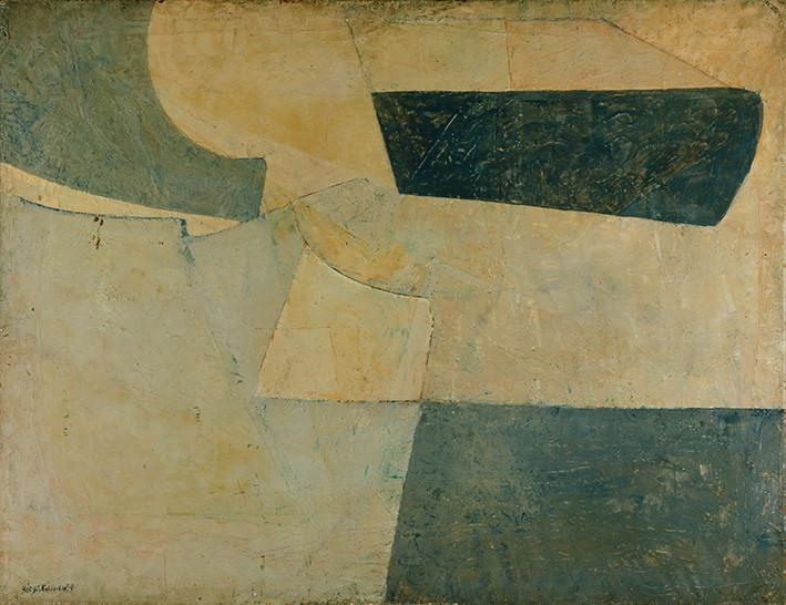 Serge Poliakoff: Composition en bleu