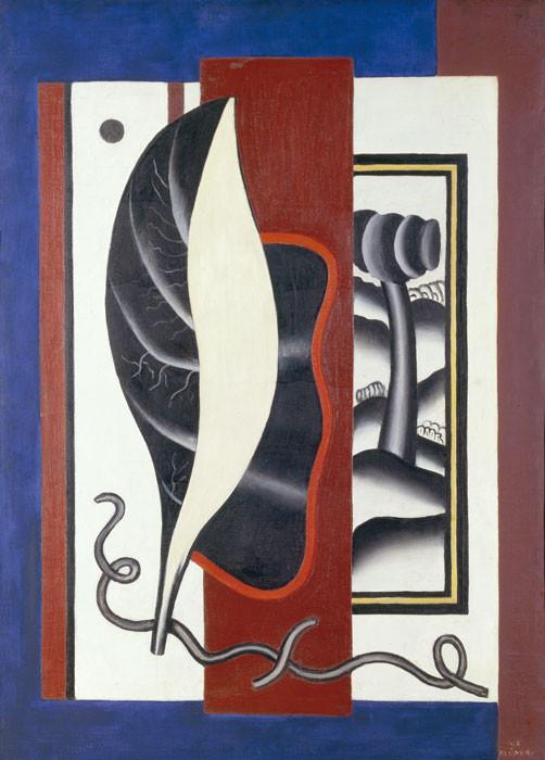Fernand Léger: Composition feuille
