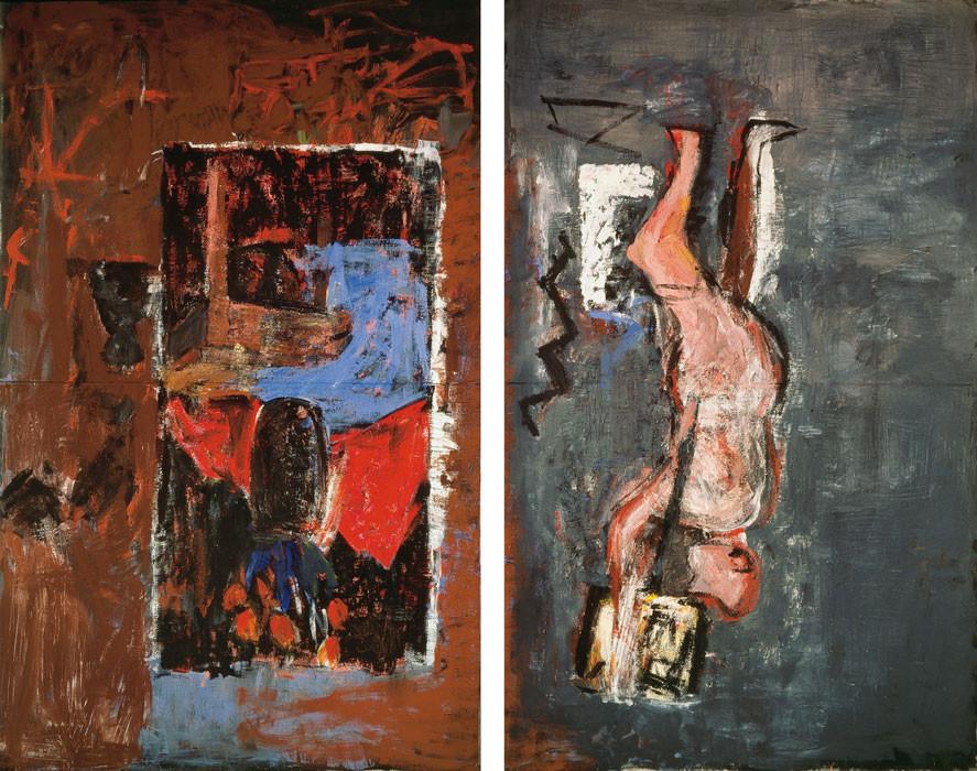 George Baselitz: Das Atelier