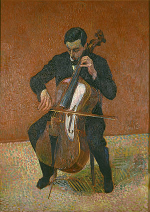 Cuno Amiet: Der Cellospieler