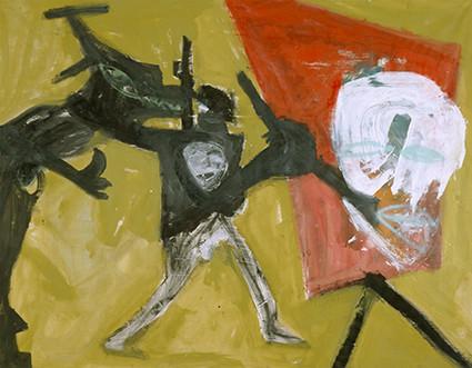 Martin Disler: Der Maler