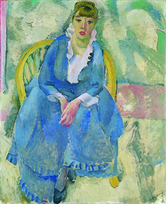 Maurice Barraud: Die Frau in Blau