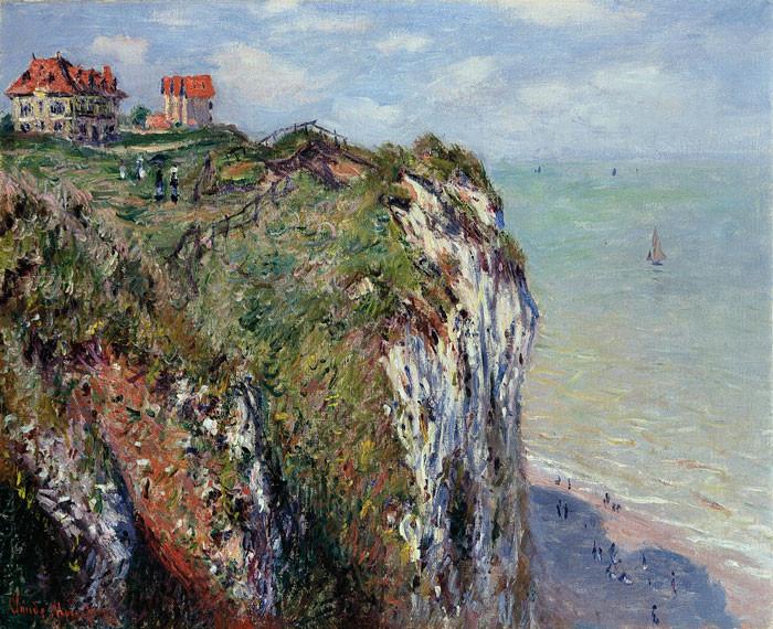 Claude Monet: Falaise à Dieppe