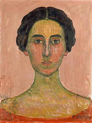 Ferdinand Hodler: Französischer Frauenkopf