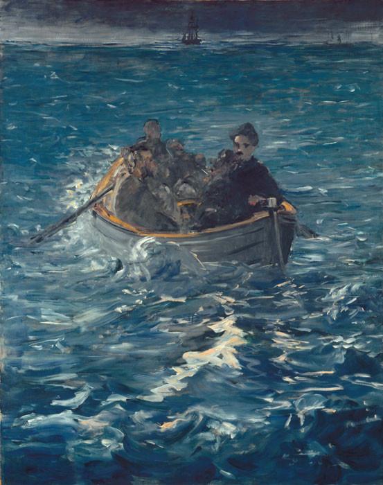 Edouard Manet: Henri Rocheforts Flucht