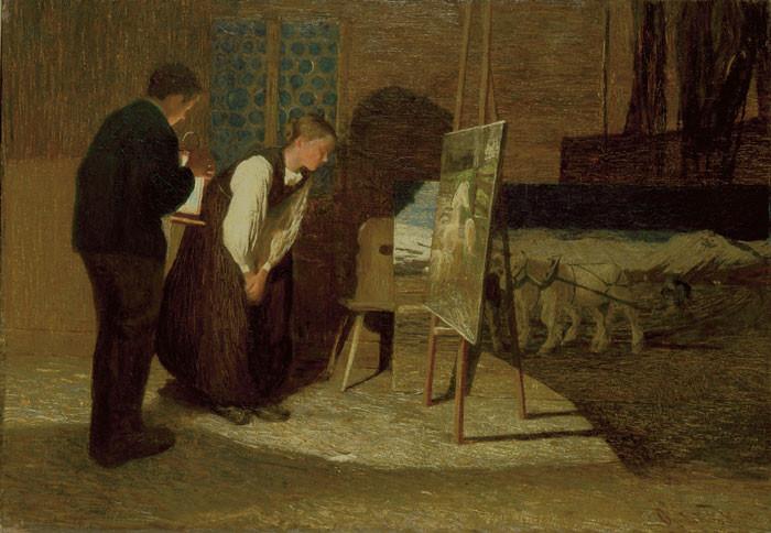 Giovanni Segantini: I miei modelli