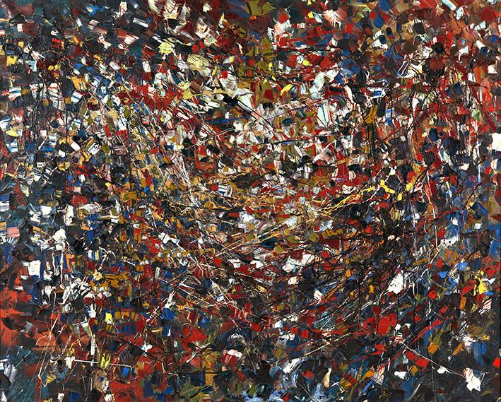 Jean-Paul Riopelle: Komposition