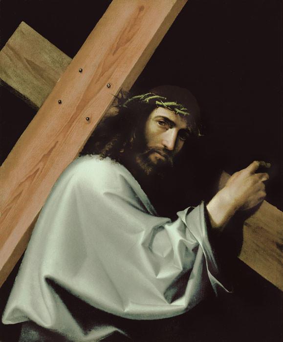 Bartalomeo Montagna: Kreuztragender Christus