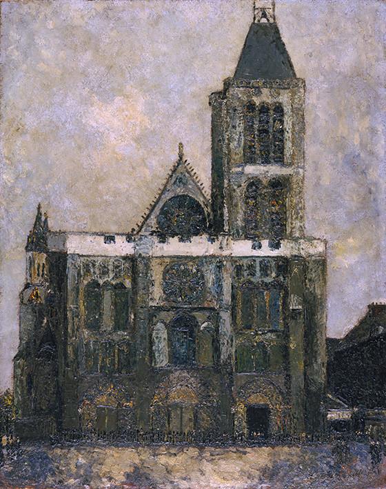 Maurice Utrillo: La Basilique de St-Denis