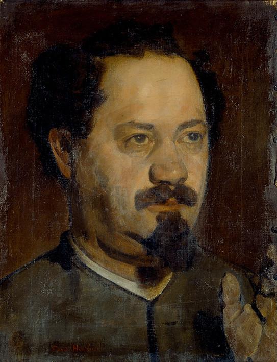Ferdinand Hodler: Männerkopf