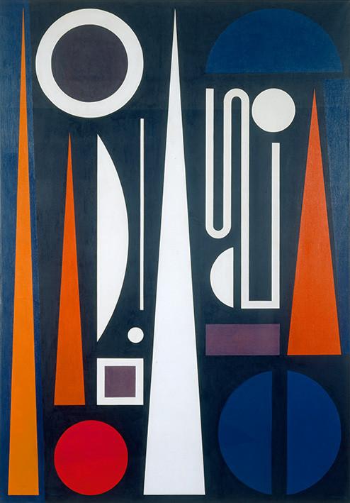 Auguste Herbin: Minuit