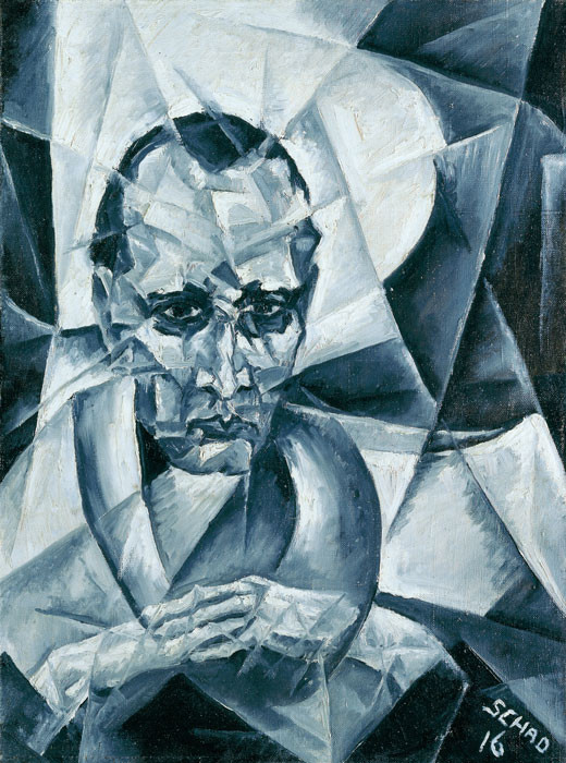 Christian Schad: Portrait Dr. W. Serner
