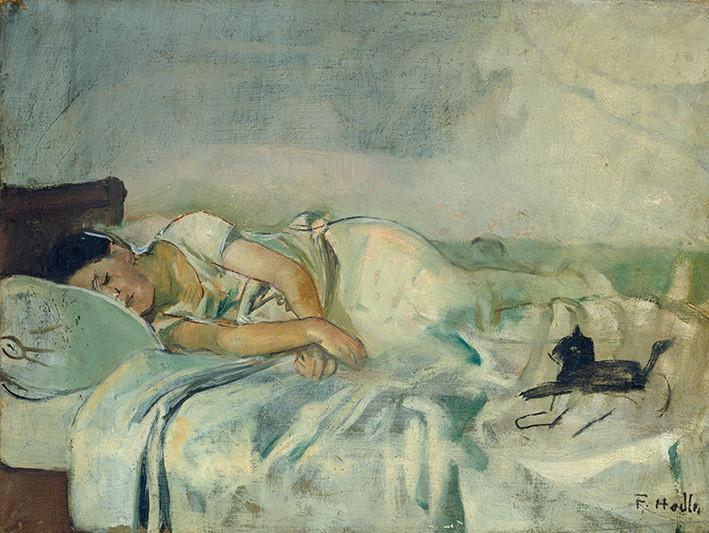 Ferdinand Hodler: Schlafende