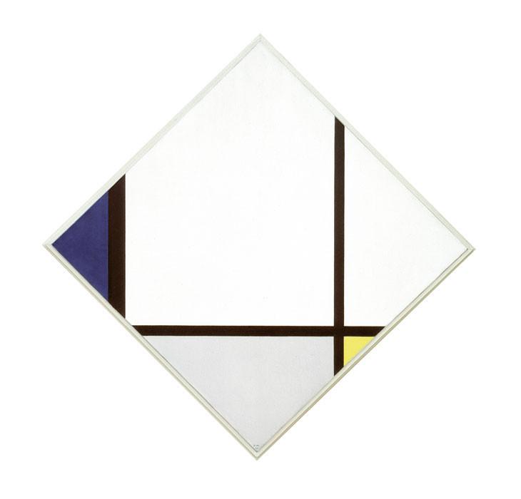 Piet Mondrian: Tableau No 1